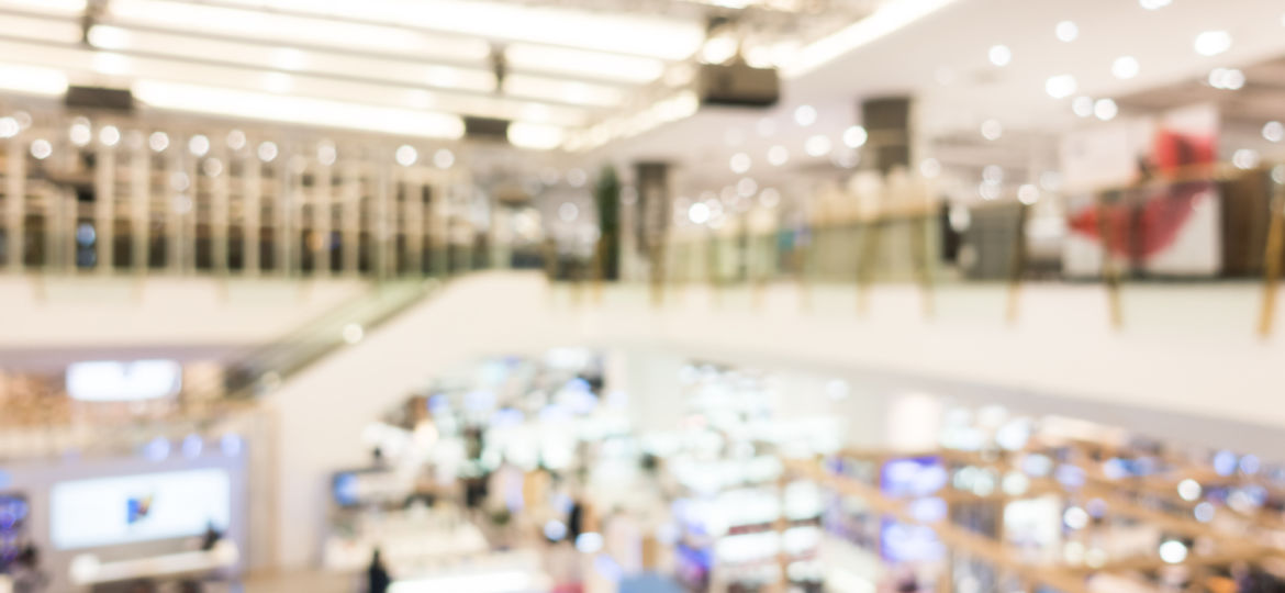 Abstract blur beautiful luxury shopping mall and retails store